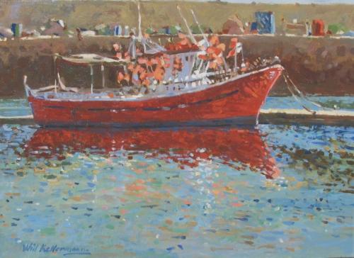 Barco de Pesca | Oilpainting | 40 x 50 | € 650,00