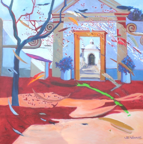Heaven's Door | Oilpainting | 105 x 105 | € 1.250,00