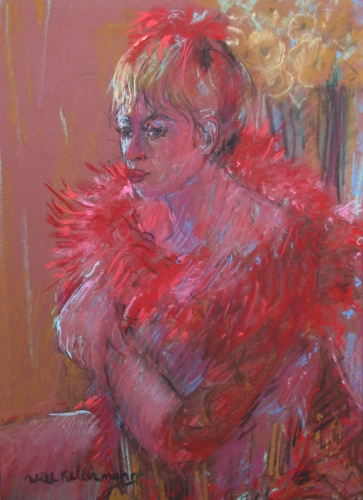 Lady in Red | 60 x 45 | € 750,00