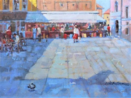 Markt in Venetië | 40 x 50 | € 1.150,00