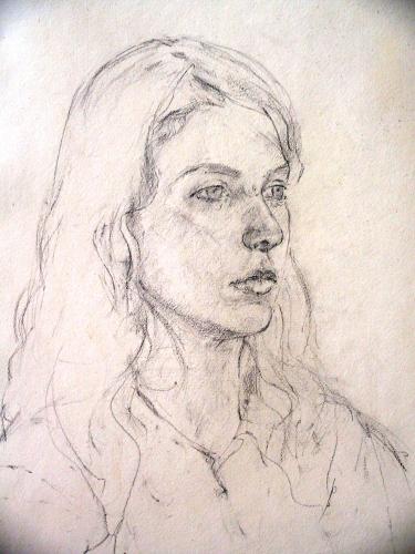 Portret tekening | 40 x 50