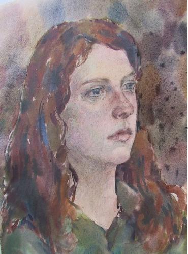 Portret aquarel | 30 x 40